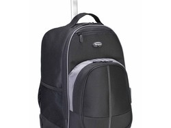 Tote your laptop and other essentials in this $47 Targus Compact Rolling Backpack