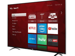 Grab a refurbished TCL P6 Series 55-inch 4K Roku TV for under $400