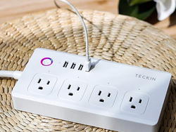 This discounted Smart Power Strip lets you control each outlet and USB port individually