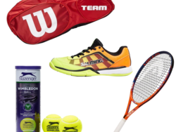 Save up to 50% on tennis equipment today at eBay