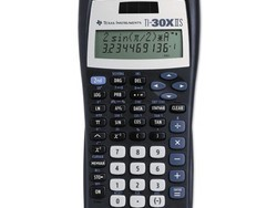 Get ready for school with this $9 Texas Instruments TI-30X IIS Scientific Calculator