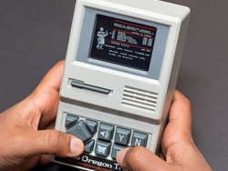 Teach your kids about the olden days with the handheld Oregon Trail game while it's 60% off