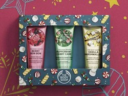Level up the stocking stuffers with 40% off sitewide and free shipping at The Body Shop
