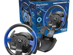 Put the pedal to the metal with the $150 Thrustmaster T150 Racing Wheel for PlayStation 4