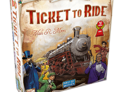 Race across America with the $25 Ticket To Ride board game