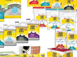 Score 40 pounds of Tidy Cats kitty litter and a $5 Target gift card for as low as $15