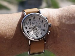 Keep up with the times using this $35 Timex Weekender watch