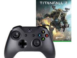 Pick up an Xbox Wireless Controller in white or black with Titanfall 2 for only $40