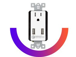 Add two QC2.0 USB ports to your wall using this $25 Top Greener power outlet