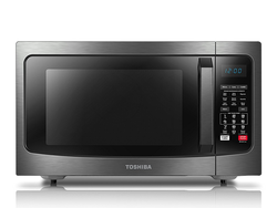 Bake, reheat, or cook with Toshiba's $147 Stainless Steel Microwave Convection Oven