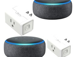 Pick up two 3rd-Gen Amazon Echo Dots and two TP-Link Smart Plugs for $70 today