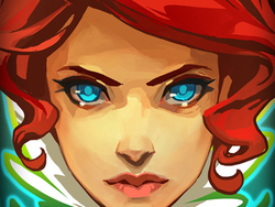 Explore a futuristic city in Transistor on iOS devices for $3