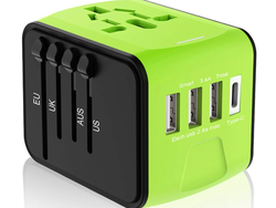 Don't travel overseas without one of these $16 USB Travel Plug Adapters