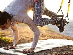 This $100 TRX Suspension Trainer will give you a gym anywhere