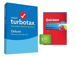 Fix up your finances with $35 off this TurboTax 2018 and Quicken Deluxe bundle