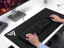 This $5 XL Gaming Mouse Pad can hold your keyboard, mouse, and phone