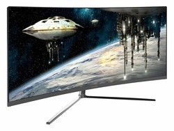 Level up with a 34-inch Viotek curved QHD gaming monitor for $375