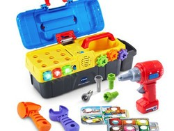 Put 'em to work with this $10 VTech Drill & Learn Toolbox