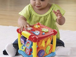 Keep little ones entertained with this $12 VTech Busy Learners Activity Cube