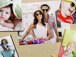 Decorate the fridge with a free 8x10 photo from Walgreens