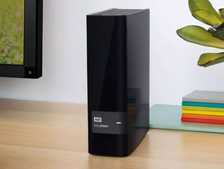 The 10TB WD Easystore External Hard Drive is bundled with a 32GB USB drive for $180 today only