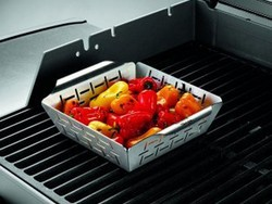 Grill side dishes more easily with this $11 Weber vegetable basket