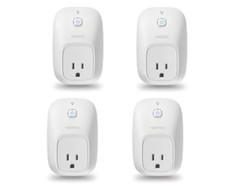 Grab four of Wemo's Switch smart plugs and a $30 Dell gift card for just $80