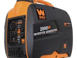 This $390 Wen 2000-watt inverter generator produces power without the noise