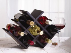 Organize your precious wine with this $16 Kamenstein Butterfly Wine Rack