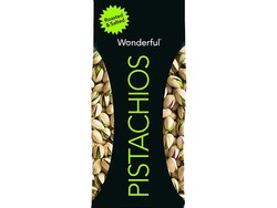 Snack on some roasted and salted Wonderful Pistachios at over 20% off