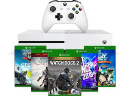 Get a free game and 1-month to Xbox Game Pass with this $189 Xbox One S bundle