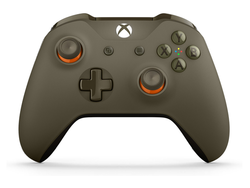 Get your hands on this green and orange Xbox Wireless Controller for $36