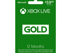 Renew or extend your Xbox Live Gold membership for a year at just $44