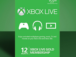 Renew or extend your Xbox Live Gold membership by one year for just $44