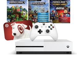 This $230 Xbox One S Minecraft bundle comes with a $20 Target gift card