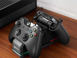 Power up two Xbox controllers simultaneously with the $21 AmazonBasics Dual Charging Station