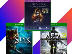 Microsoft has several Xbox One games for $12 or less, like Torment: Tides of Numenera