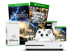 This $249 Xbox One S console comes bundled with 4 awesome games like GTA V