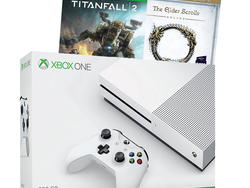 This 500GB Xbox One S console is bundled with two games for $190