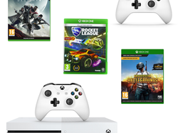 This £230 Xbox One S deal bundles in the console, Rocket League, PUBG, and more