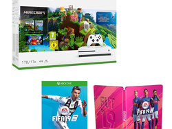 This £230 Xbox One S deal bundles in the console, Minecraft, FIFA 19 and more