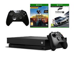 This Xbox One X Lightning Deal bundles in the console, Elite Controller, PUBG and Forza