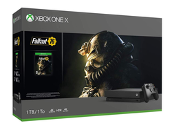 Upgrade to the Xbox One X with this rare $150 discount on the Fallout 76 bundle