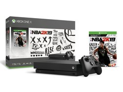 The Xbox One X 1TB console is bundled with NBA 2K19 and discounted to $410