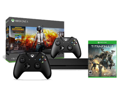 This $480 Xbox One X 1TB bundle includes two controllers and two games