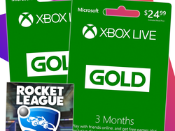 Get six months of Xbox Live and Rocket League for $25 at GameStop