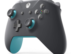 Start playing with this Grey and Blue Xbox Wireless Controller for $50