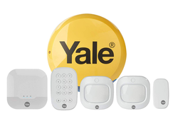 The Yale Sync Smart Home Alarm system can be managed from your phone or your Echo devices