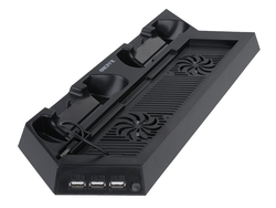 This PlayStation 4 Vertical Cooling Stand and Dual Charging Station is down to $10 today
