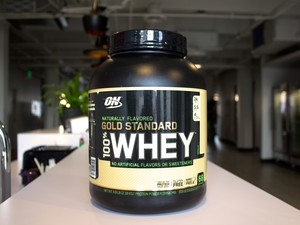 Grab nearly 5 pounds of naturally flavored Whey protein for just $34 at Amazon